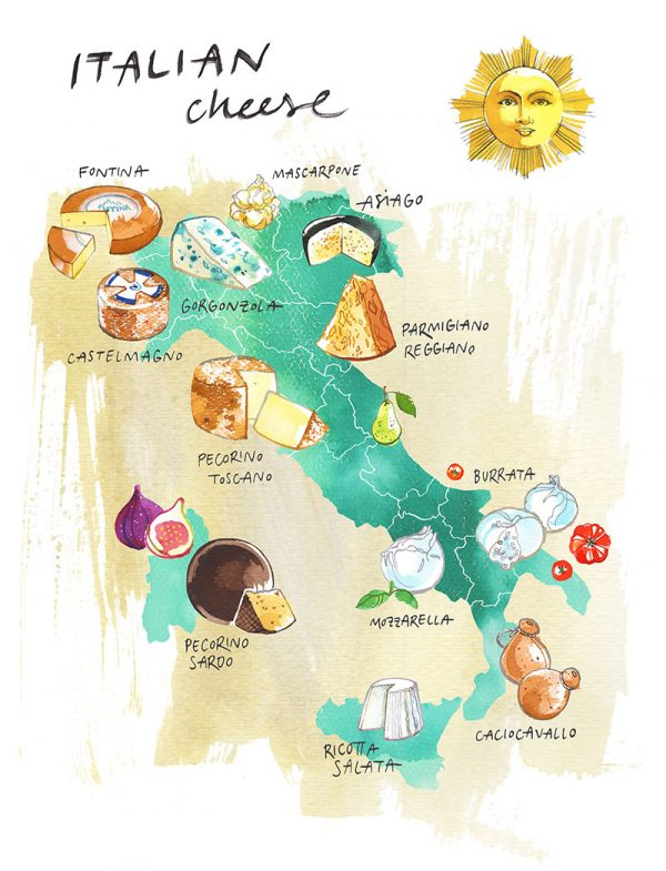 Cheeses of Italy