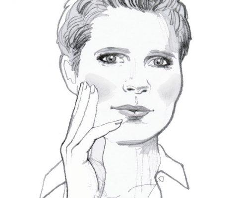 MYSELF magazine, 2020, pencil portrait illustration of German Philosopher